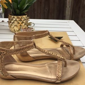Kenneth Cole reaction soft Gold Gladiators